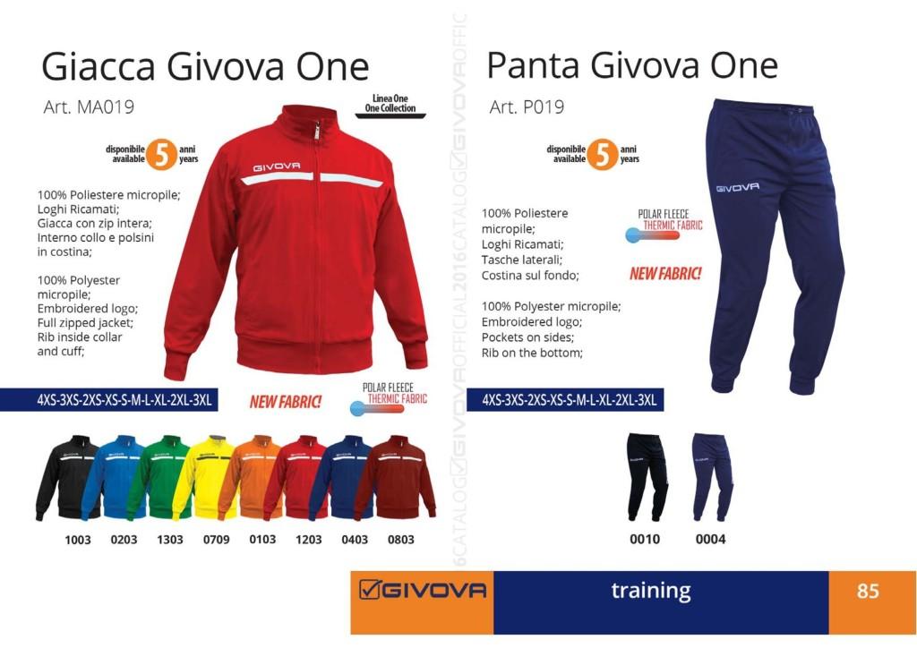 Dresy sportowe Giacca i Panta Givova One