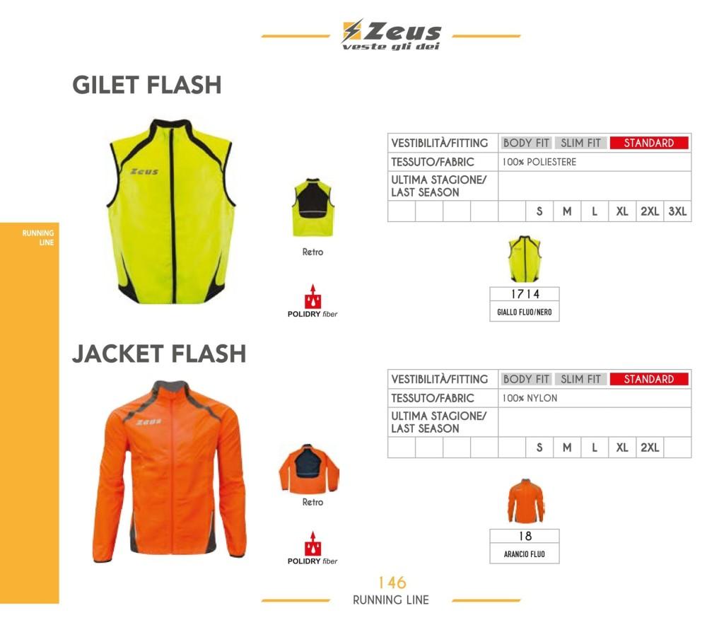 Stroje do biegania Gilet i Jacket Flash