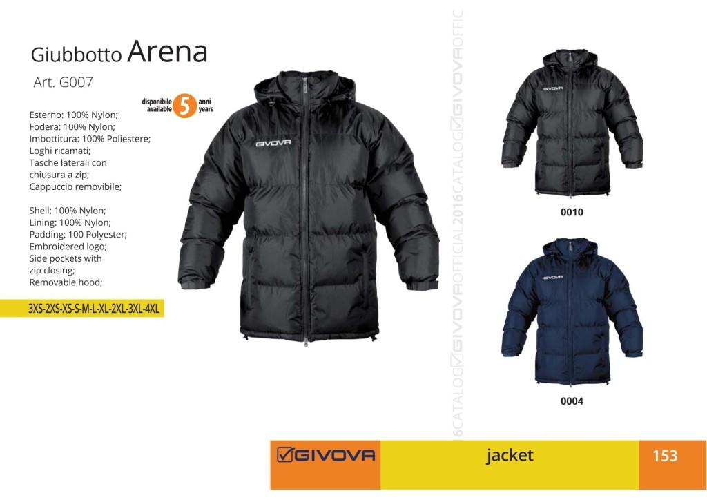 Kurtka Givova Giubbotto Arena