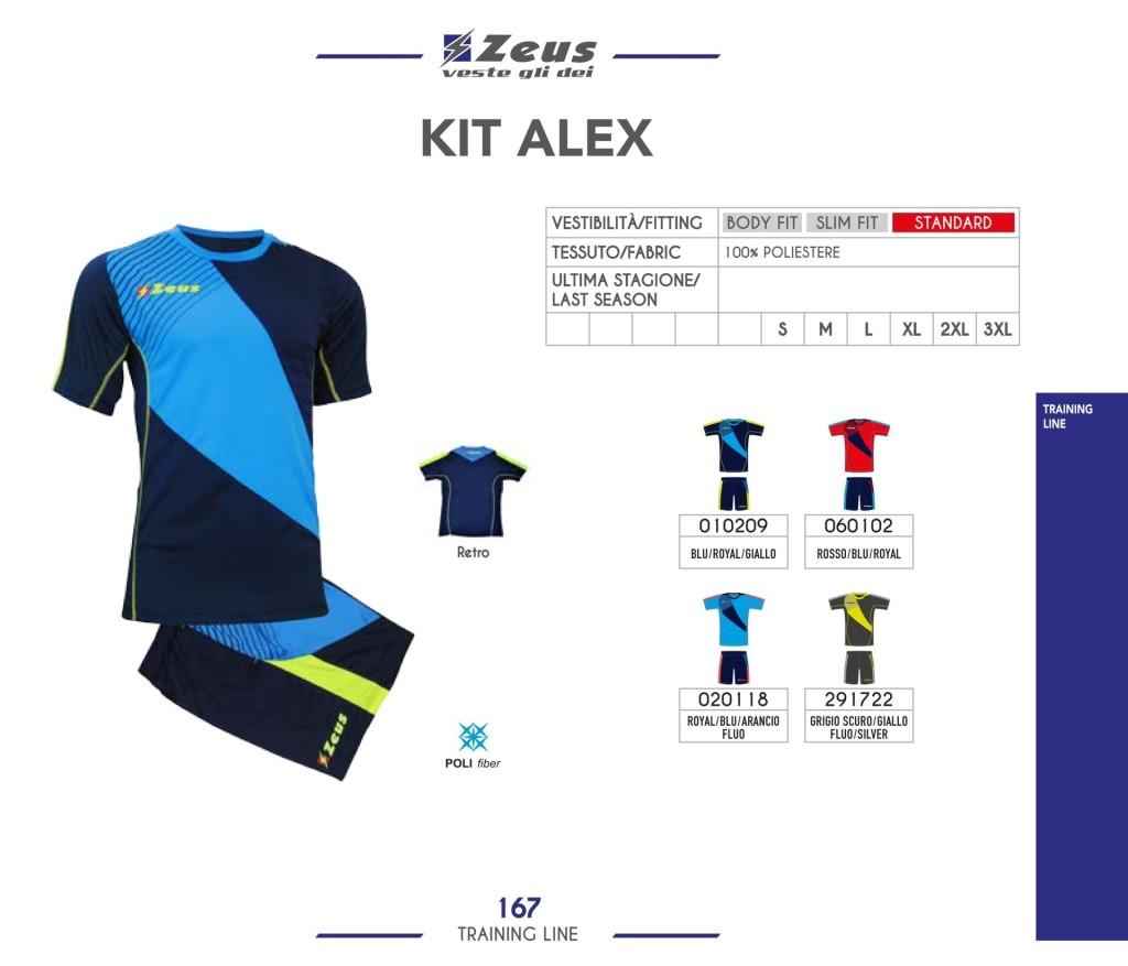 Odzież treningowa Zeus Kit Alex