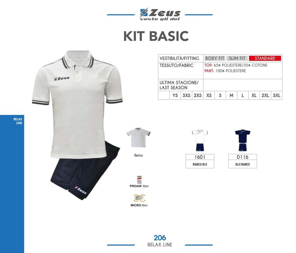 Odzież Zeus Relax Kit Basic