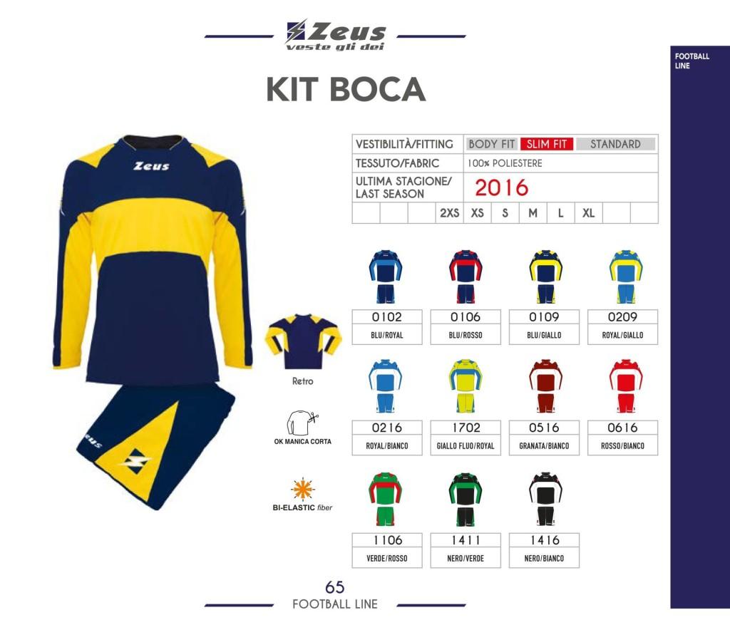 Komplety piłkarskie Zeus Kit Boca