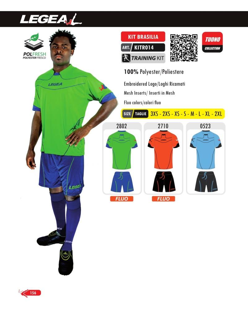 Odzież treningowa Legea Kit Brasilia