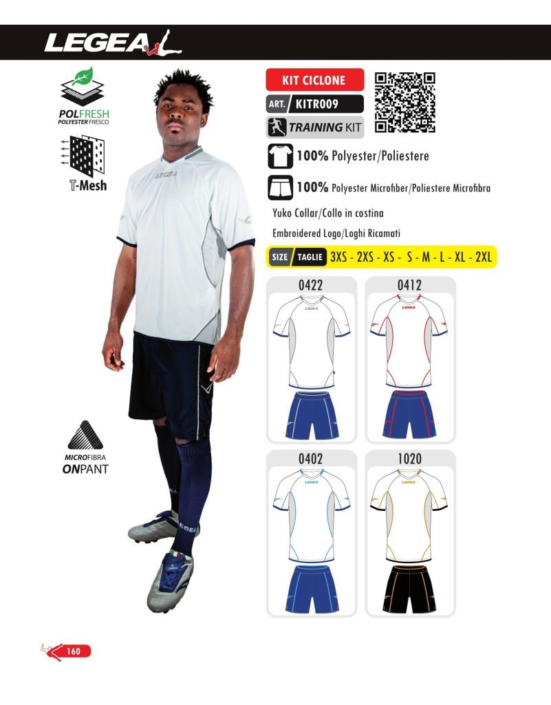 Odzież treningowa Legea Kit Ciclone