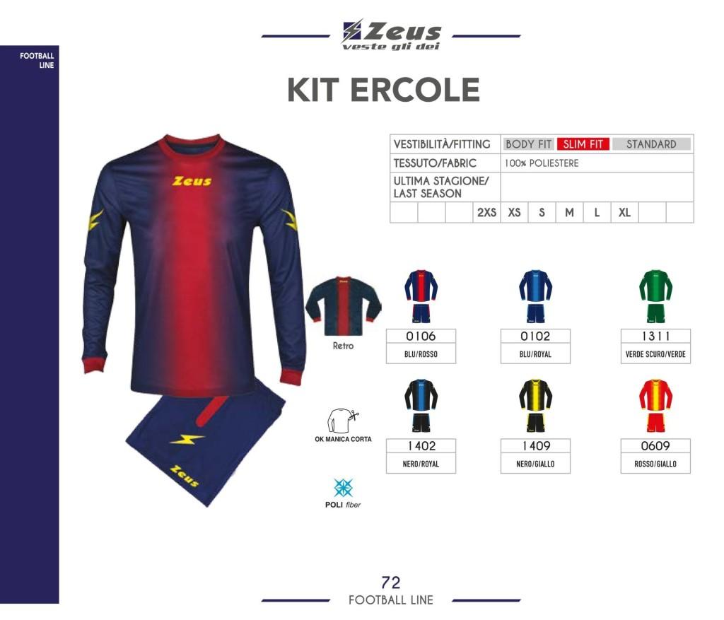 Stroje piłkarskie Zeus Kit Ercole