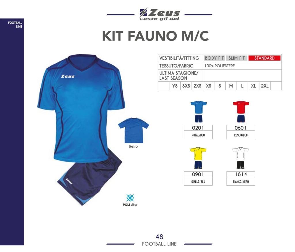 Stroje piłkarskie Zeus Kit Funo M/C