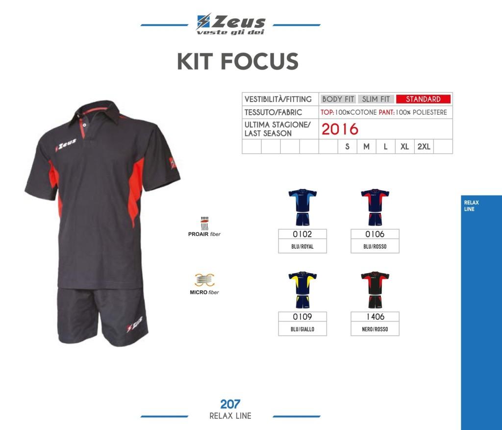 Odzież Zeus Relax Kit Focus