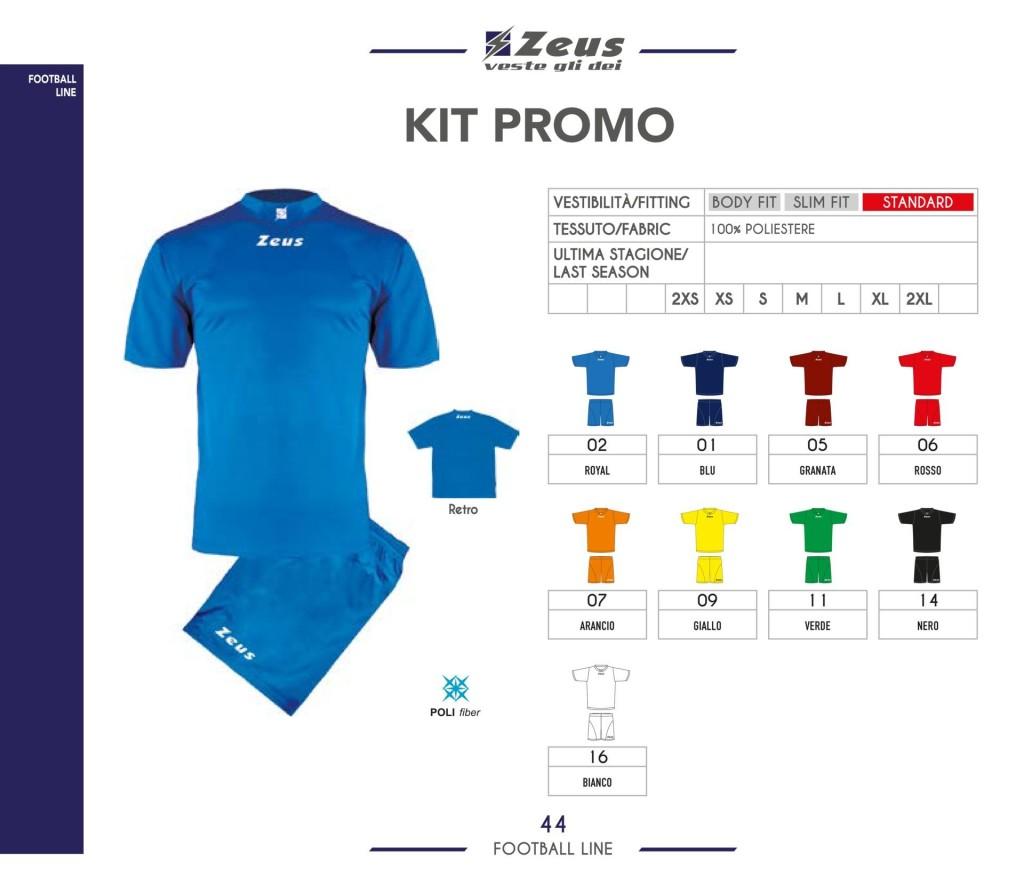 Stroje piłkarskie Zeus Kit Promo