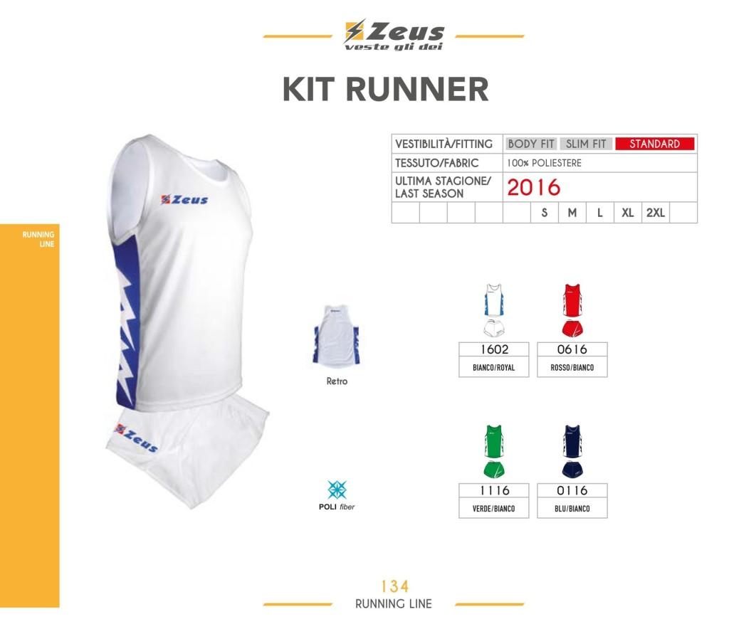 Stroje do biegania Kit Runner