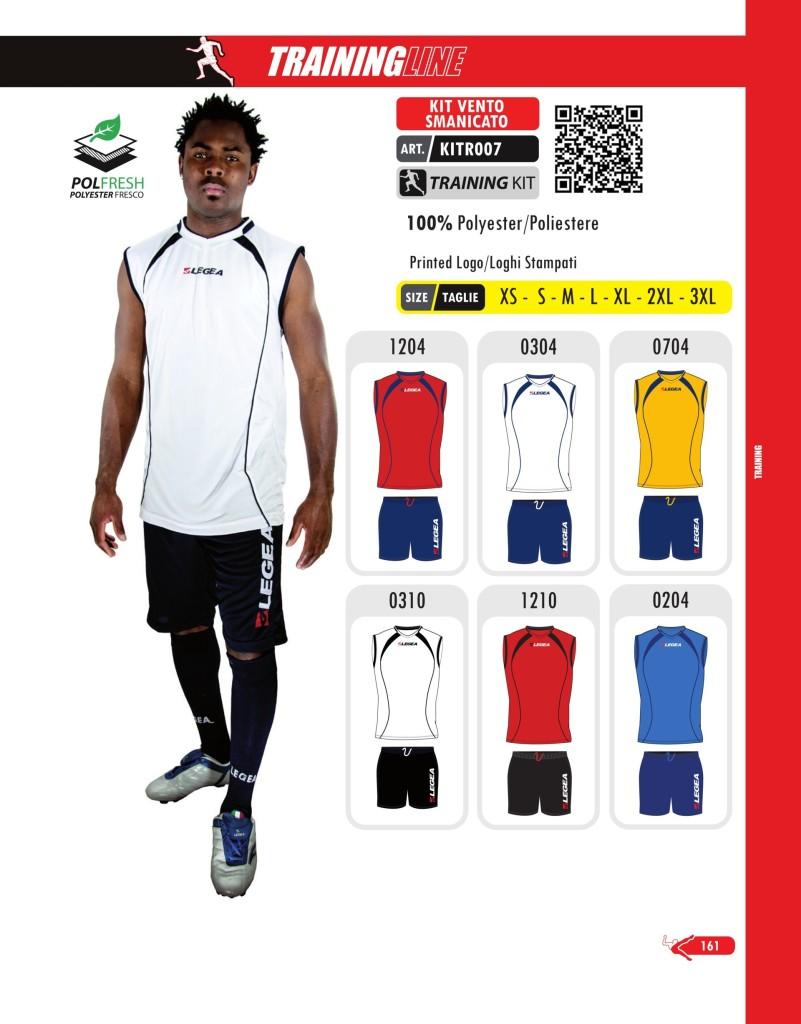Odzież treningowa Legea Kit Vento Smanicato