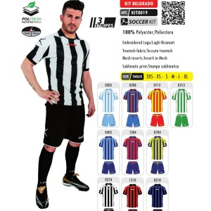 Stroje piłkarskie Legea Kit Belgrado