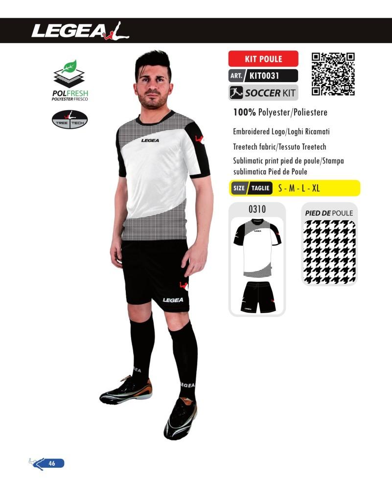 Stroje piłkarskie Legea Kit Poule