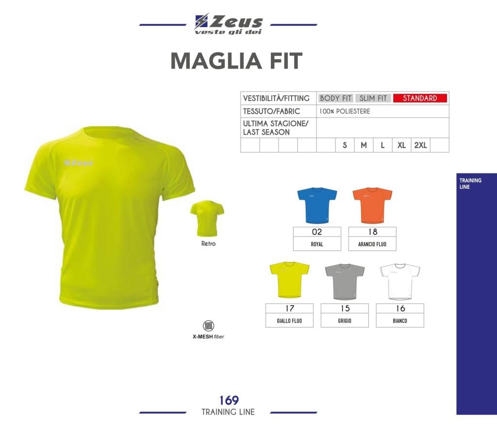 Odzież treningowa Zeus Maglia Fit