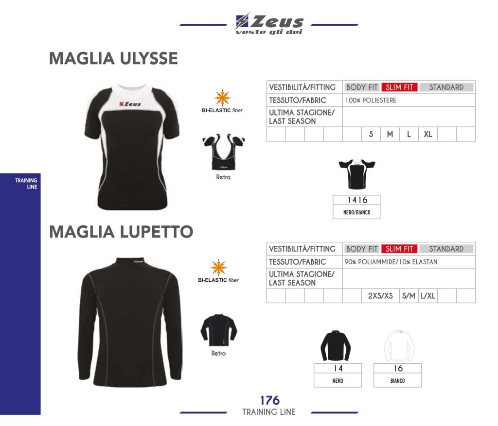 Odzież treningowa Zeus Maglia Ulysse Lupetto