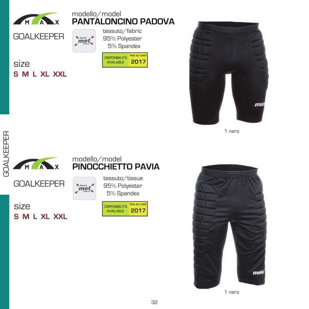Stroje piłkarskie Max Pantaloncino Padova