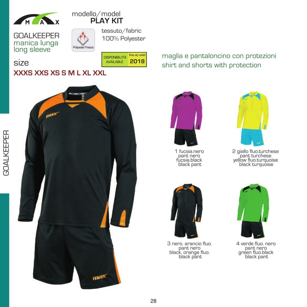 Stroje piłkarskie Max Play Kit