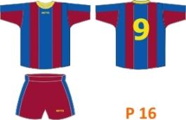 stroje piłkarskie na zamówienie