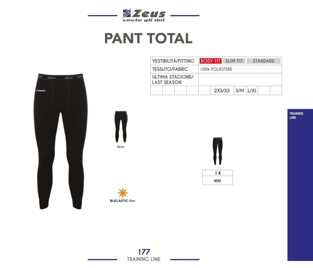 Odzież treningowa Zeus Pant Total