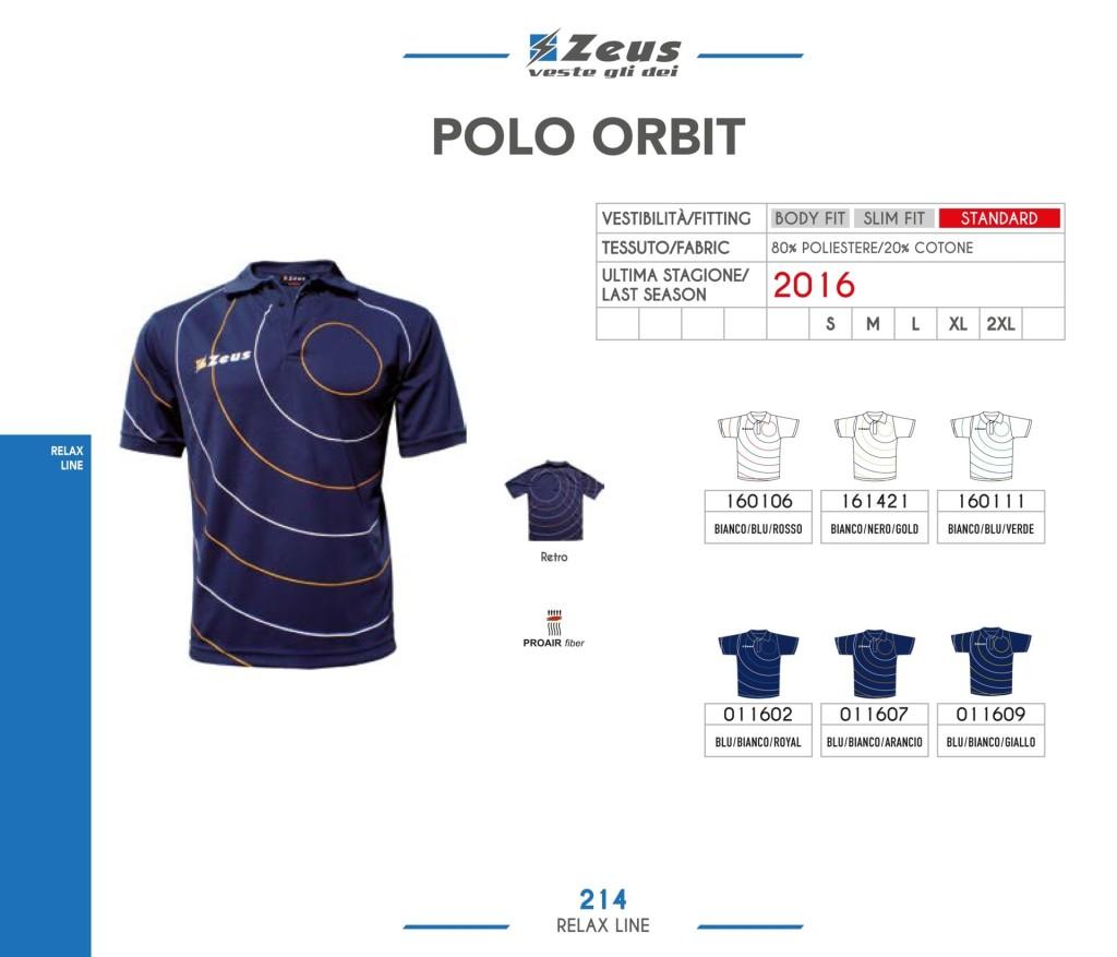 Odzież Zeus Relax Polo Orbit