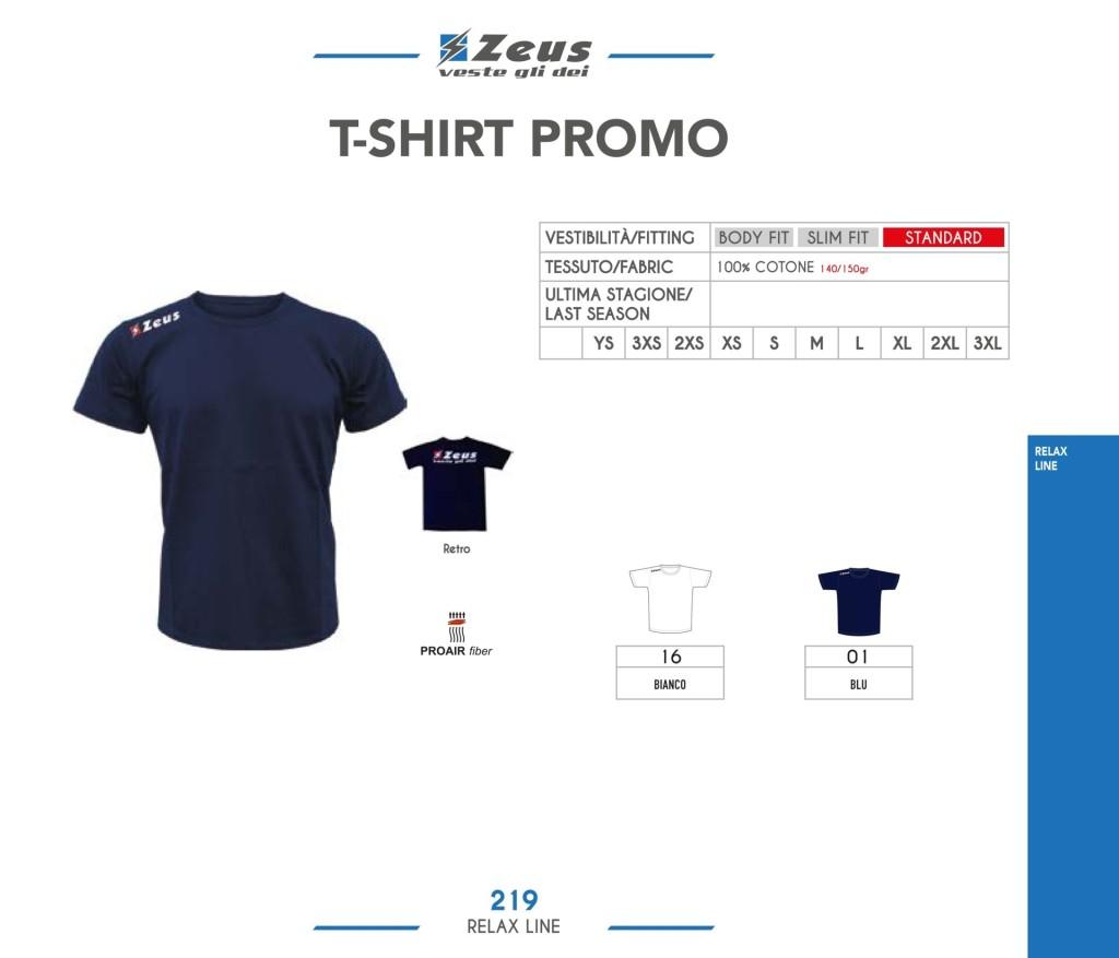 Odzież Zeus Relax T-shirt Promo