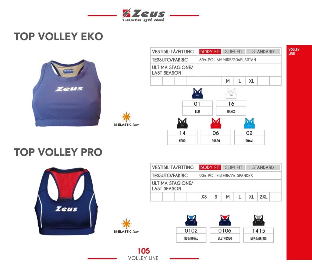 Komplety siatkarskie Zeus Top Volley Eko i Pro
