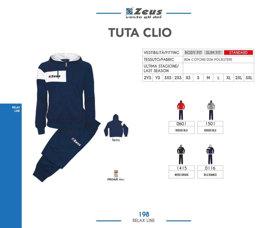 Dresy sportowe Zeus Tuta Clio