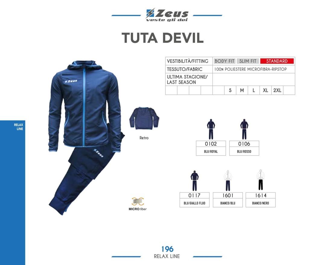 Dresy sportowe Zeus Tuta Devil