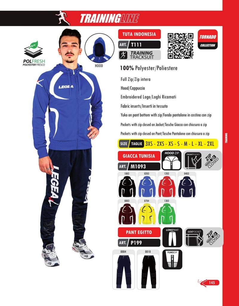 Dresy sportowe Legea Tuta Indonesia, Giacca Tunisia, Pant Egitto