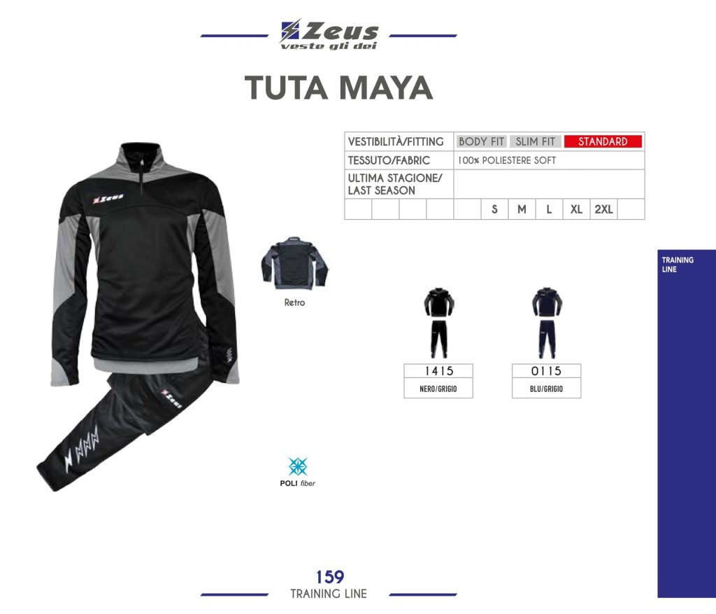 Dresy sportowe Zeus Tuta Maya