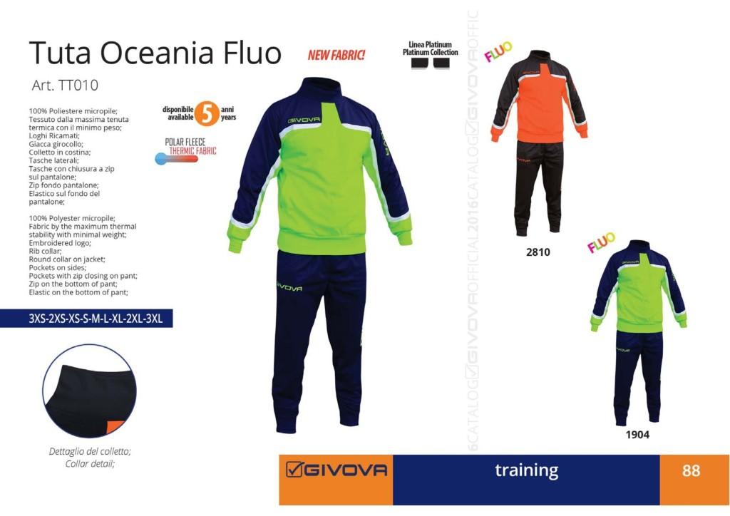Dresy sportowe Givova Tuta Oceania Fluo