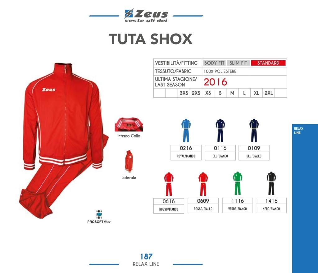 Dresy sportowe Zeus Tuta Shox