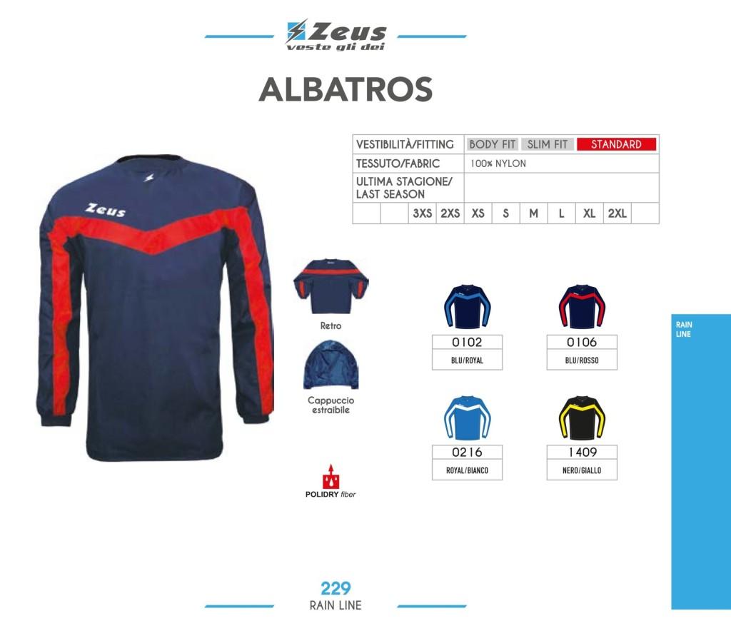 Kurtka Zeus Albatros