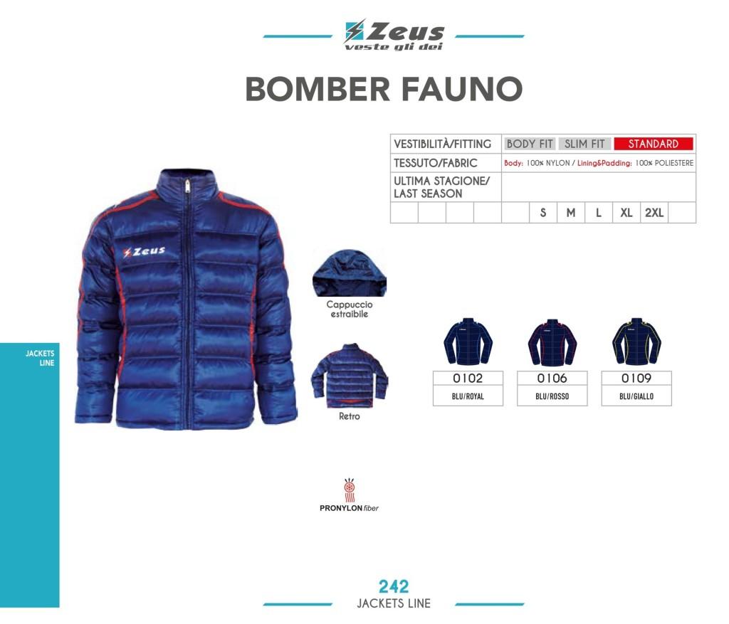 Kurtka Zeus Bomber Fauno