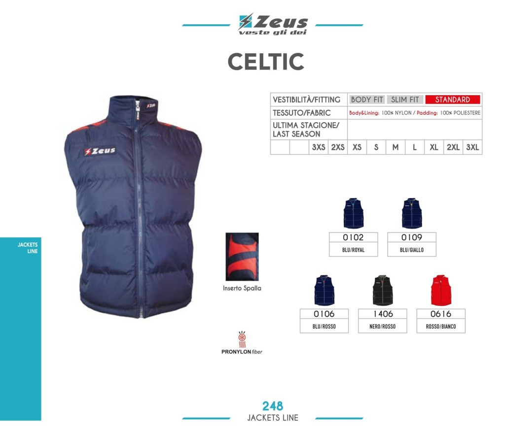 Kurtka Zeus Celtic