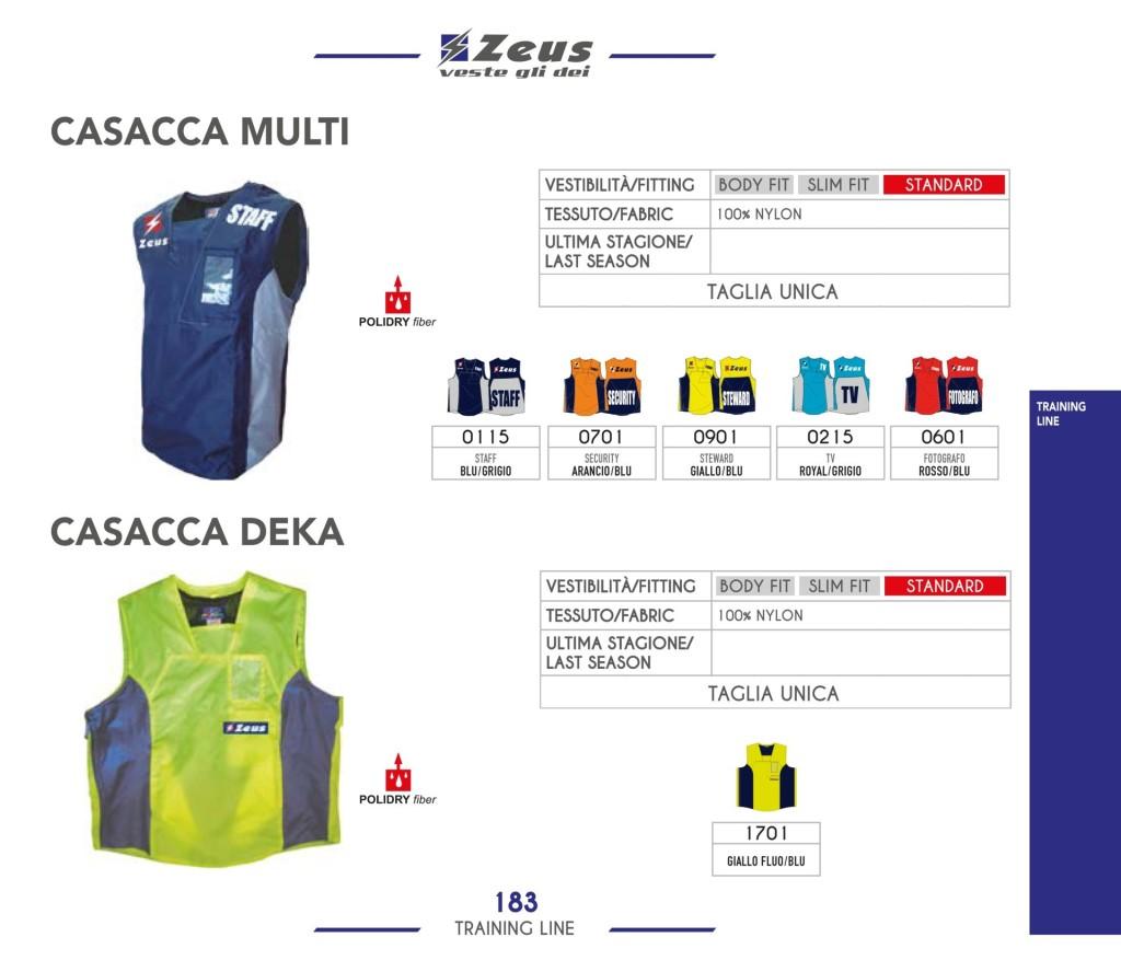 Odzież treningowa Zeus Casacca Multi Deka