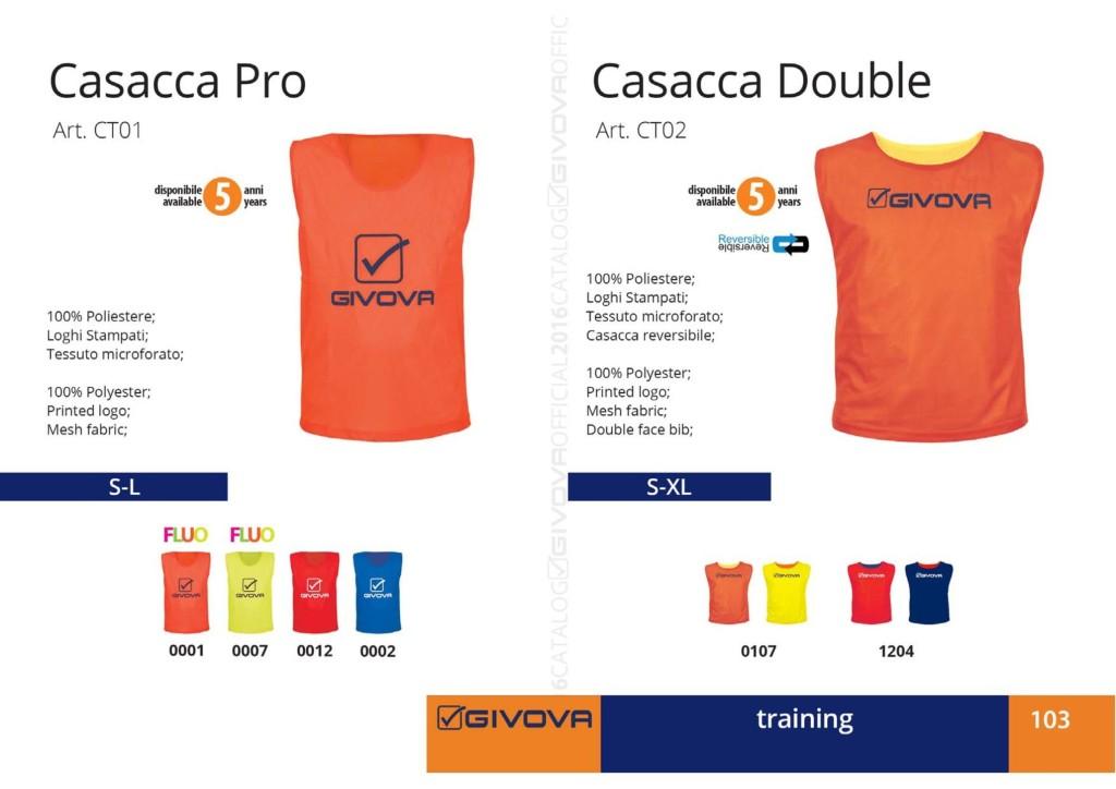 Odzież treningowa Givova Casacca Pro Double