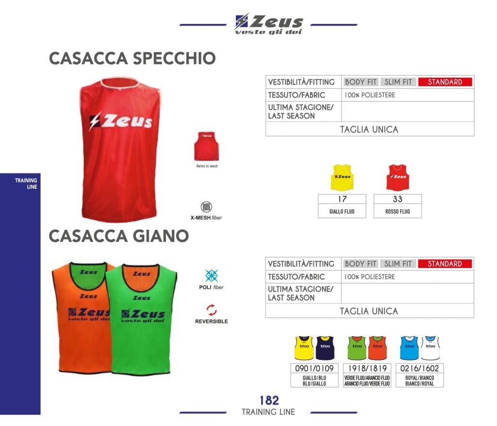 Odzież treningowa Zeus Casacca Specchio