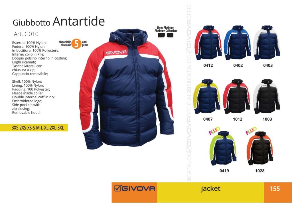 Kurtka Givova Giubbotto Antartide