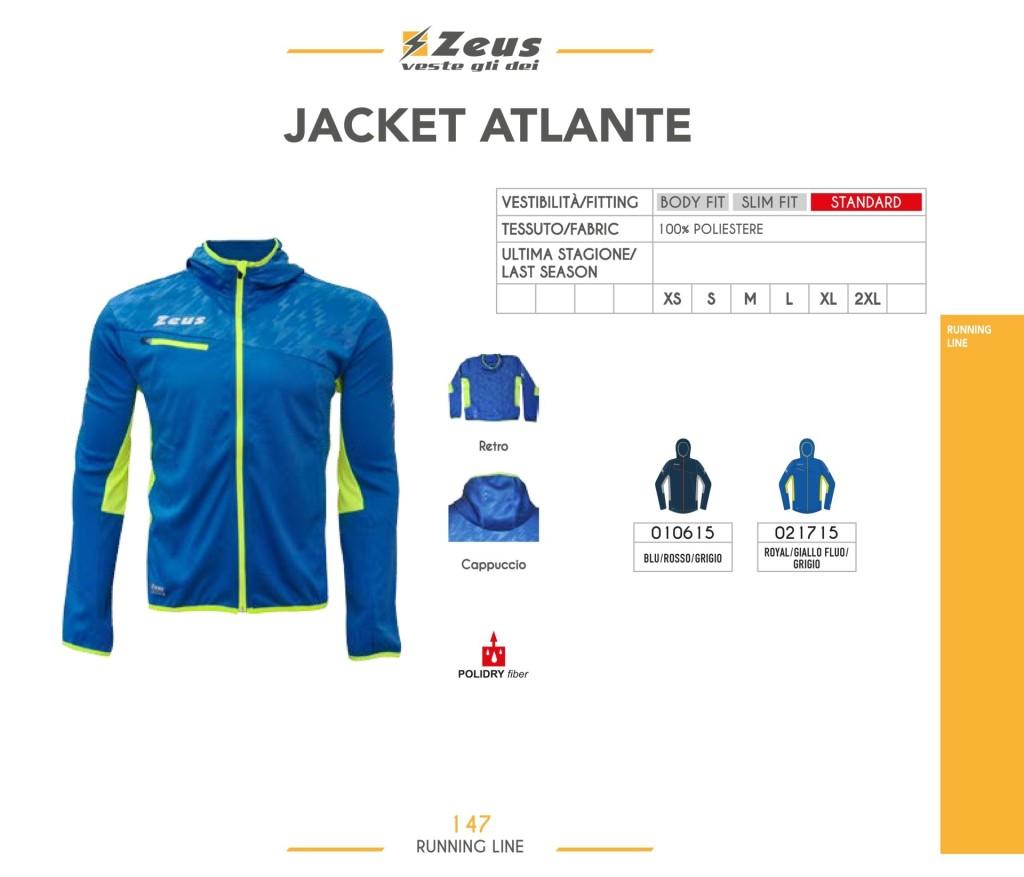 Komplety do biegania Jacket Atlante