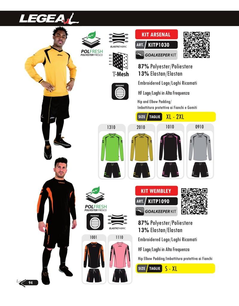 Komplety piłkarskie Legea Kit Arsenal Wembley