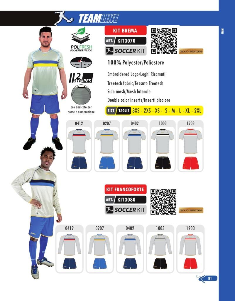 Komplety piłkarskie Legea Kit Fancoforte