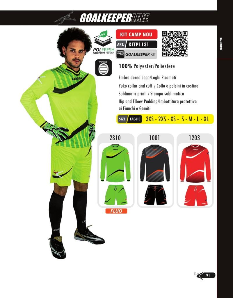 Stroje piłkarskie Legea Kit Camp Nou