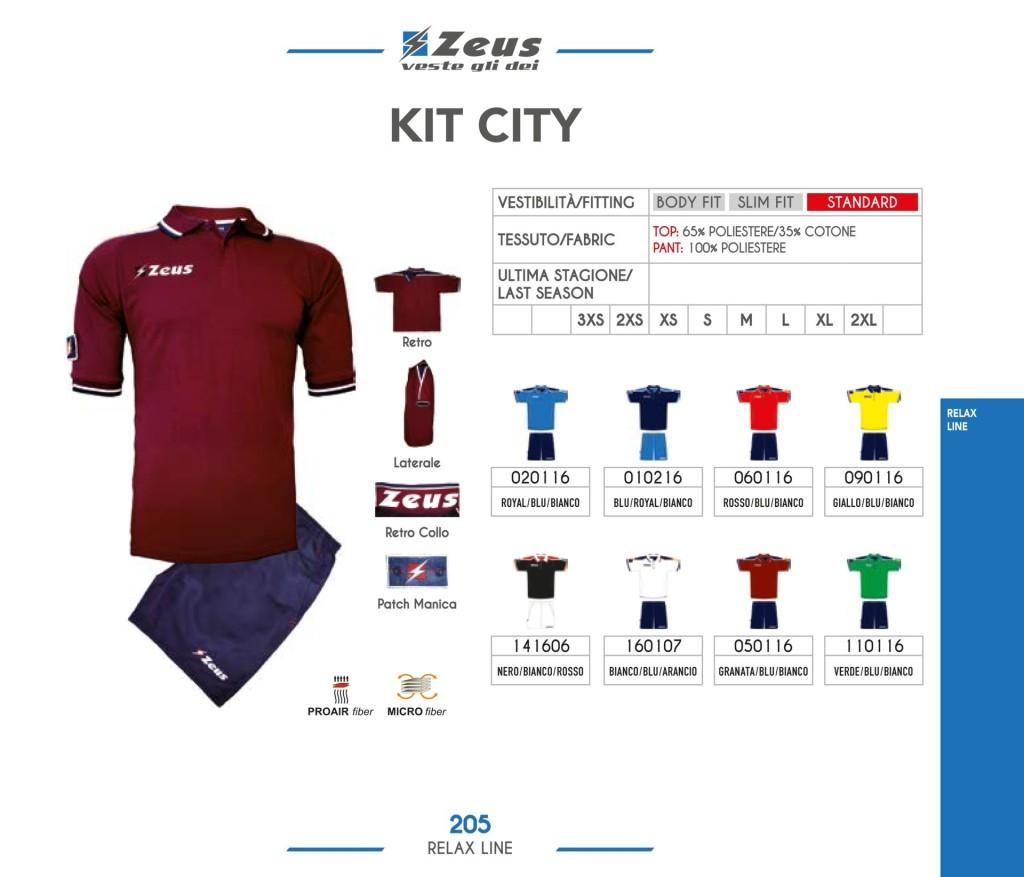 Odzież Zeus Relax Kit City