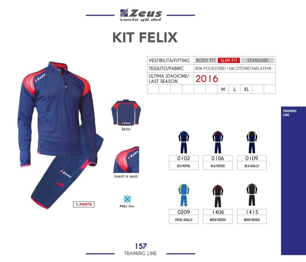 Dresy sportowe Zeus Kit Felix