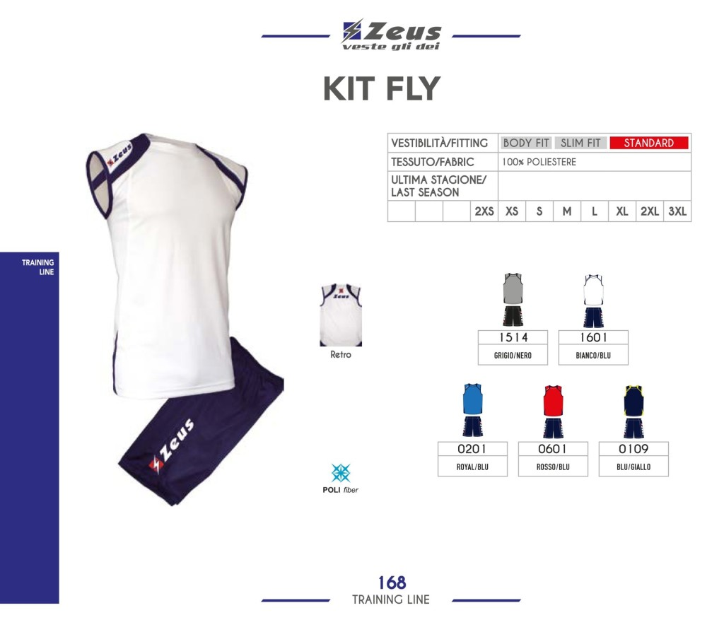 Odzież treningowa Zeus Kit Fly