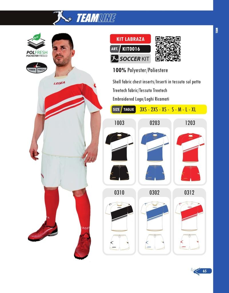 Komplety piłkarskie Legea Kit Labraza