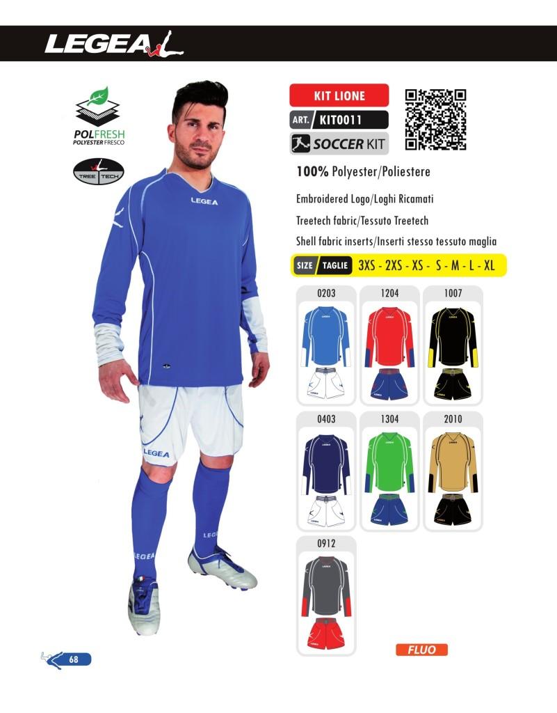 Stroje piłkarskie Legea Kit Lione