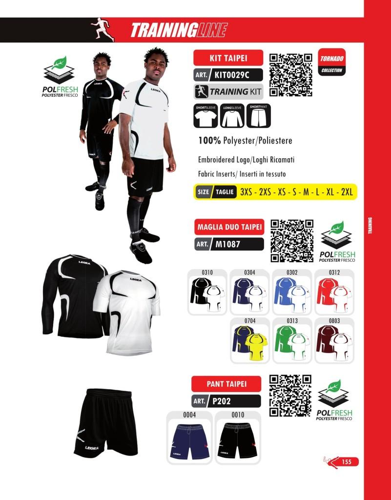 Dresy sportowe Legea Kit, Maglia Duo i Pant Taipei