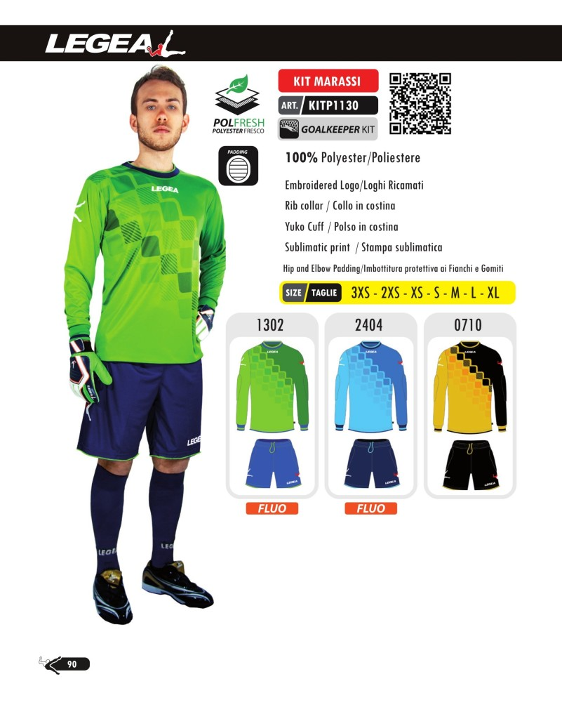 Komplety piłkarskie Legea Kit Marassi