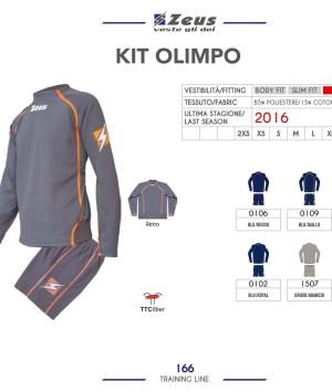Odzież treningowa Zeus Kit Olimpo